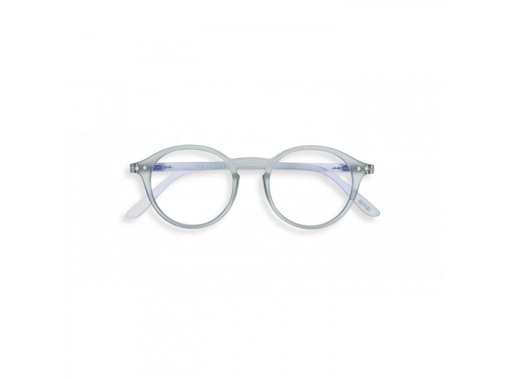 d screen frosted blue lunettes repos ecran ordinateur