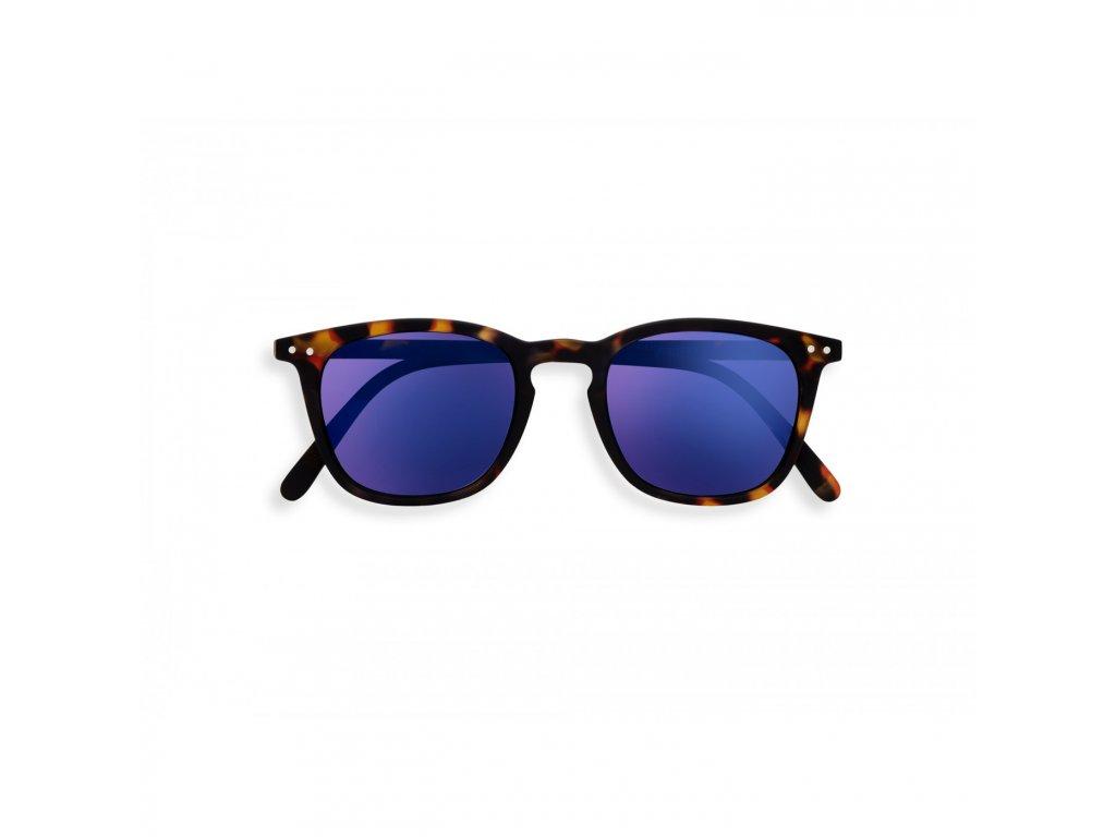 e sun tortoise mirror sunglasses