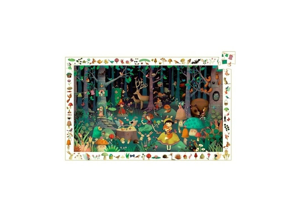 observation puzzle enchanted forest dj07504