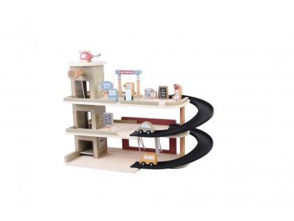 4491 Garáže garage backside 1