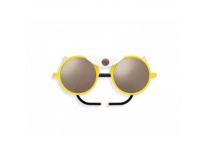sun glacier yellow citrus sunglasses mountain