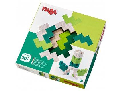 304410 3d stavebnica zelena haba 01