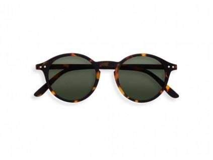 d sun tortoise green lenses sunglasses