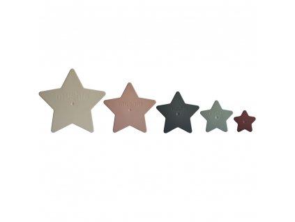 Mushie rozkladacie hviezdy nesting stars 1
