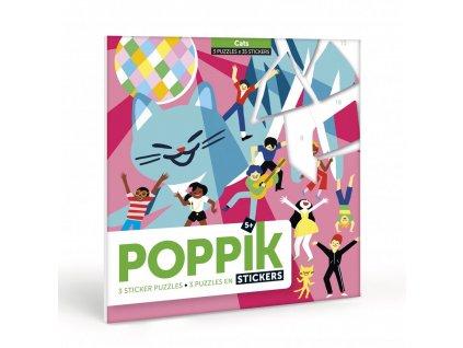 107434 poppik puzzle chats stickers gommettes copie 2