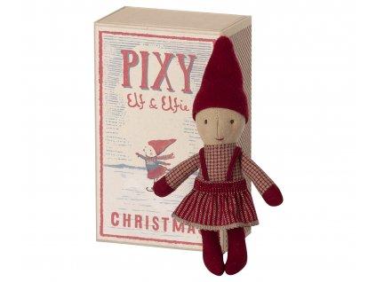 Maileg Skřítek Elfie v krabičce, holčička