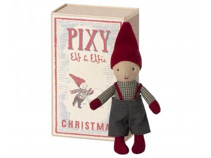Maileg Skřítek Elf v krabičce, chlapeček