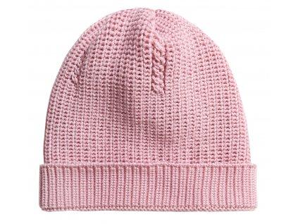 KUKUKid Merino čepice, pink