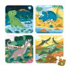 J02657 Janod puzzle 4v1 dinosaury 6 9 12 16 ks 01