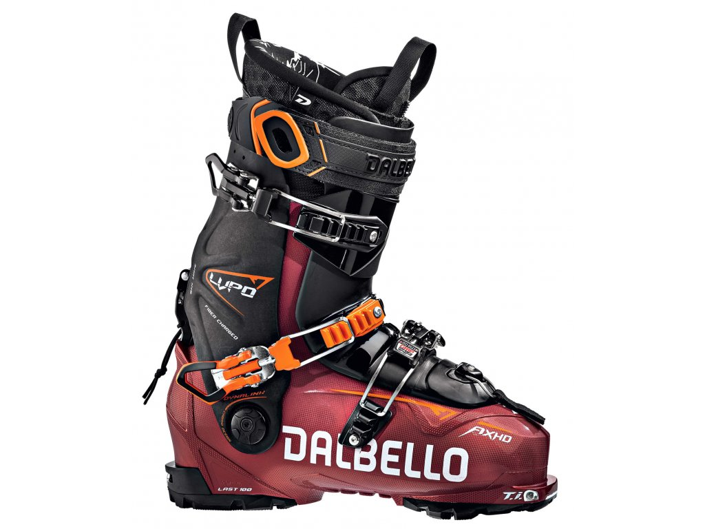 D1907009 00 Dalbello skiboot Lupo AX HD Metal Red Black