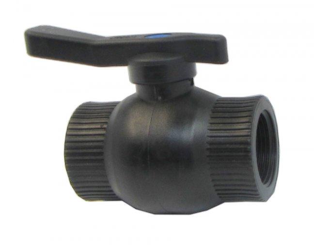 kulový ventil 1 FF plast