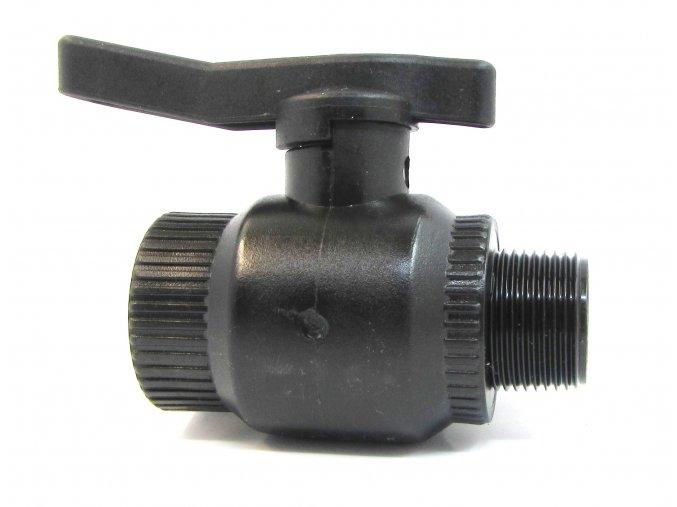 kulovy ventil 1 fm plast