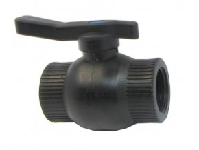kulový ventil 34 FF plast