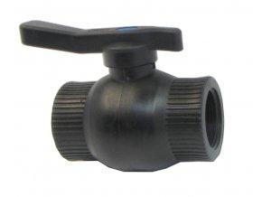 kulový ventil 2 FF plast