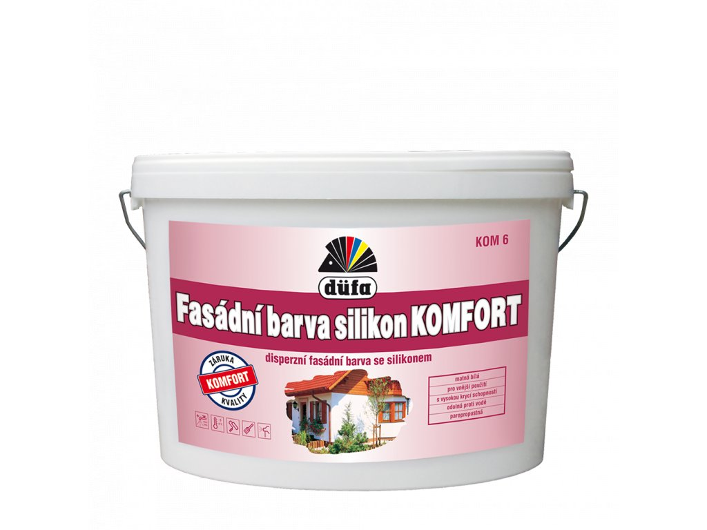 fasadni barva silikon komfort