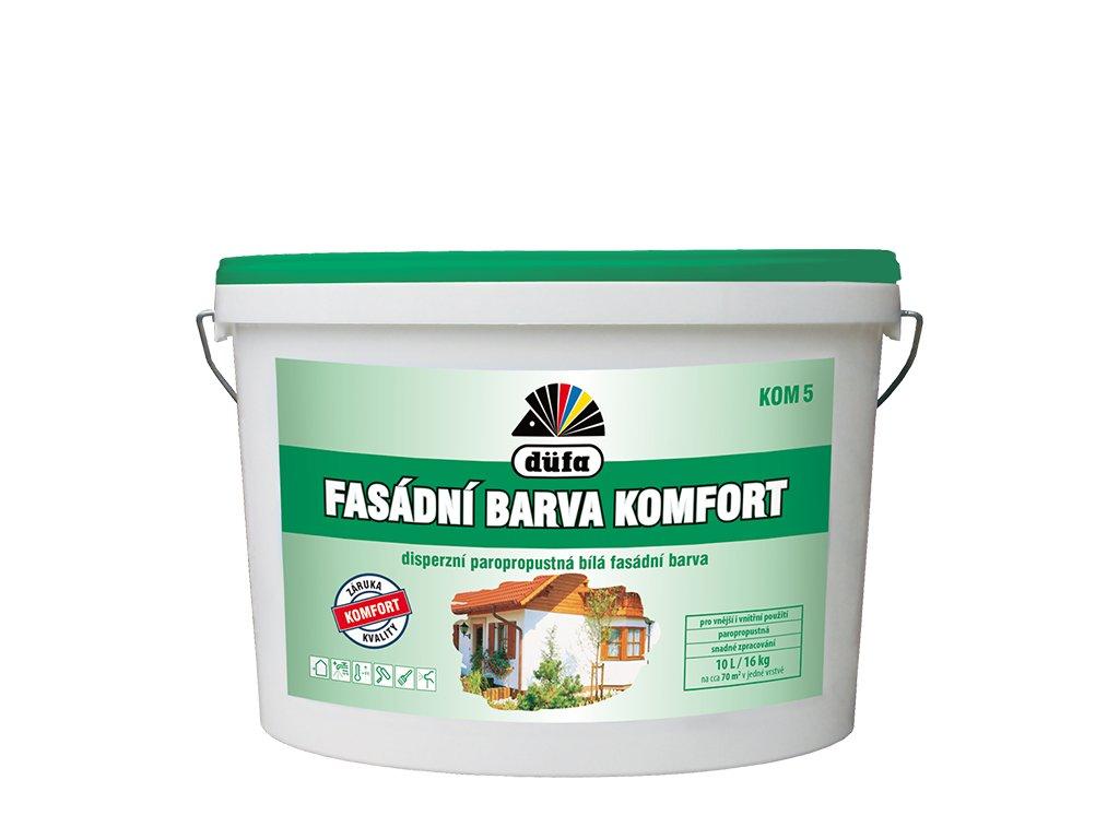 fasadni barva komfort