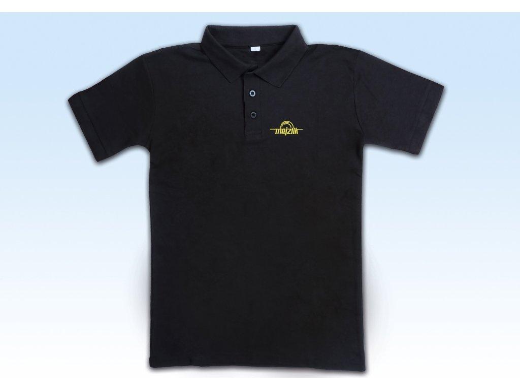 Polo-Shirt M Black