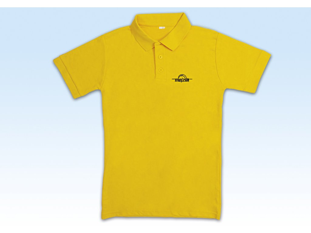 Polo-Shirt M Yellow