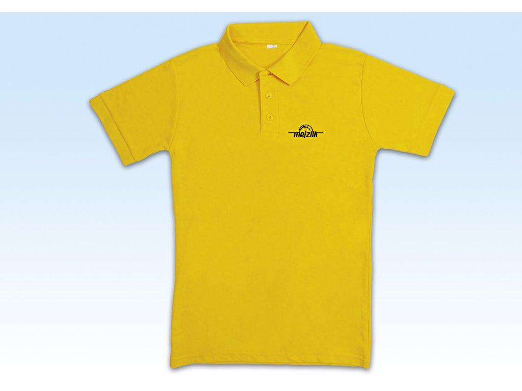 Polo-Shirt S Yellow