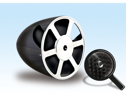 6 holes for Spinner backplate screws