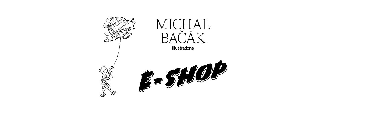 Michal Bačák Illustrations E-shop