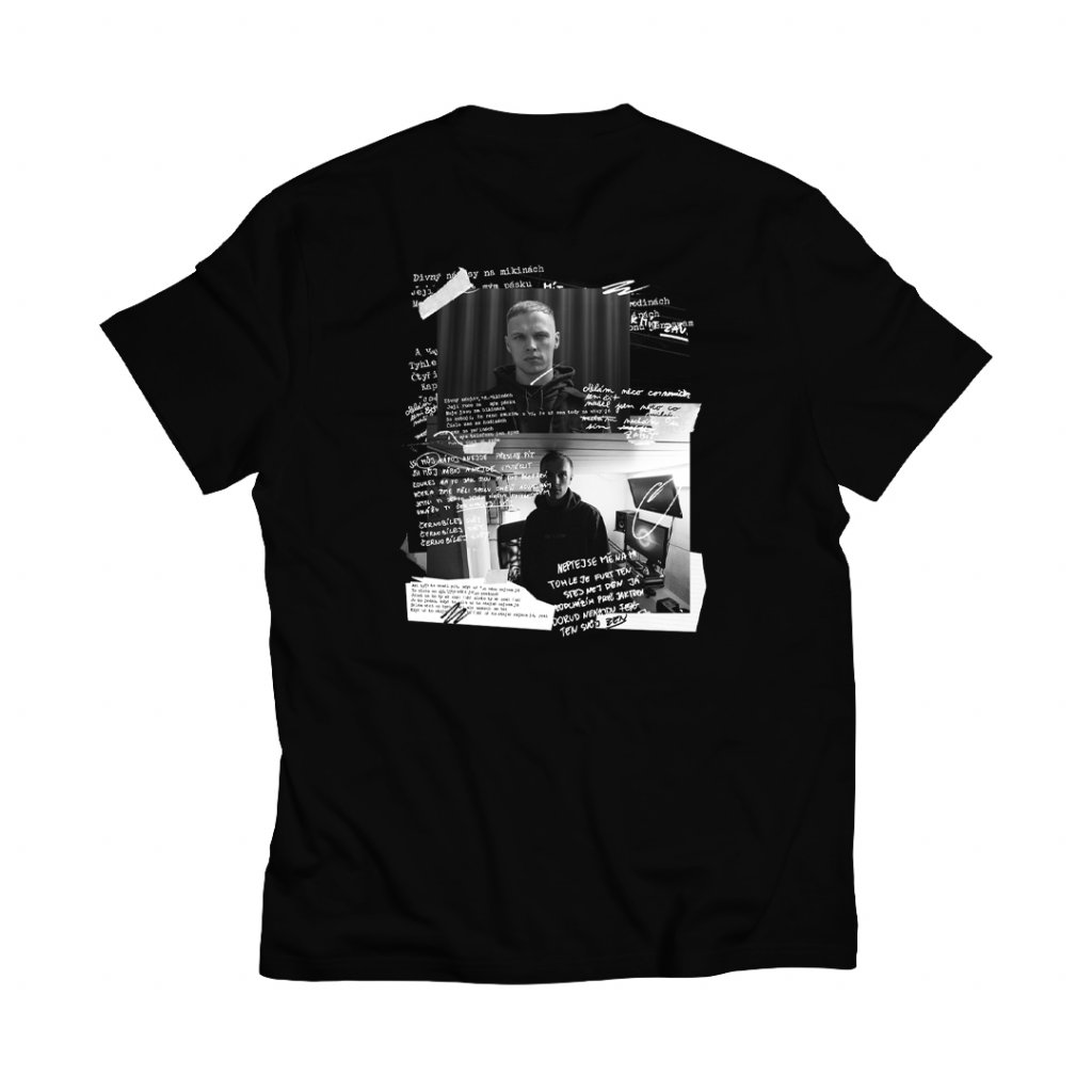 Černé triko – Černobílej svět