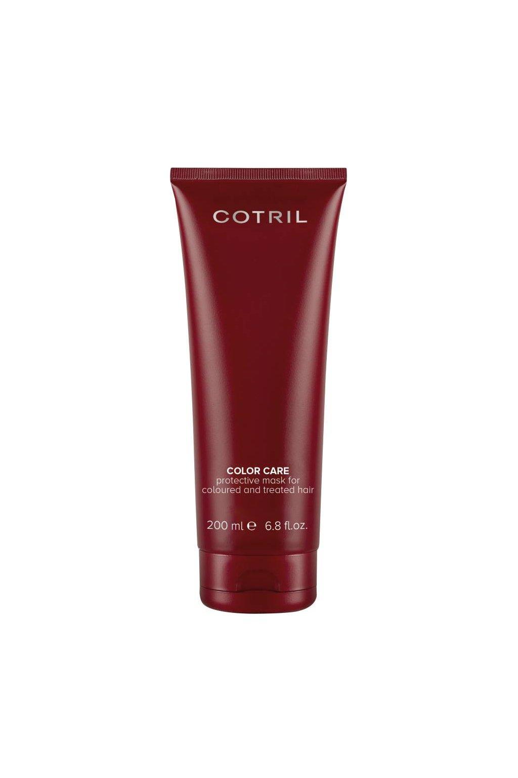 Cotril COLOR CARE Maska pro vlasy barvené a chemicky upravované (Obsah 200 ml)