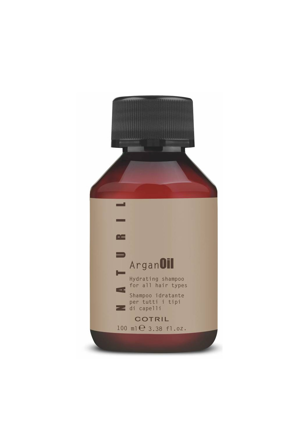 Cotril NATURIL ARGAN Šampon hydratační pro všechny typy vlasů (Obsah 100 ml)