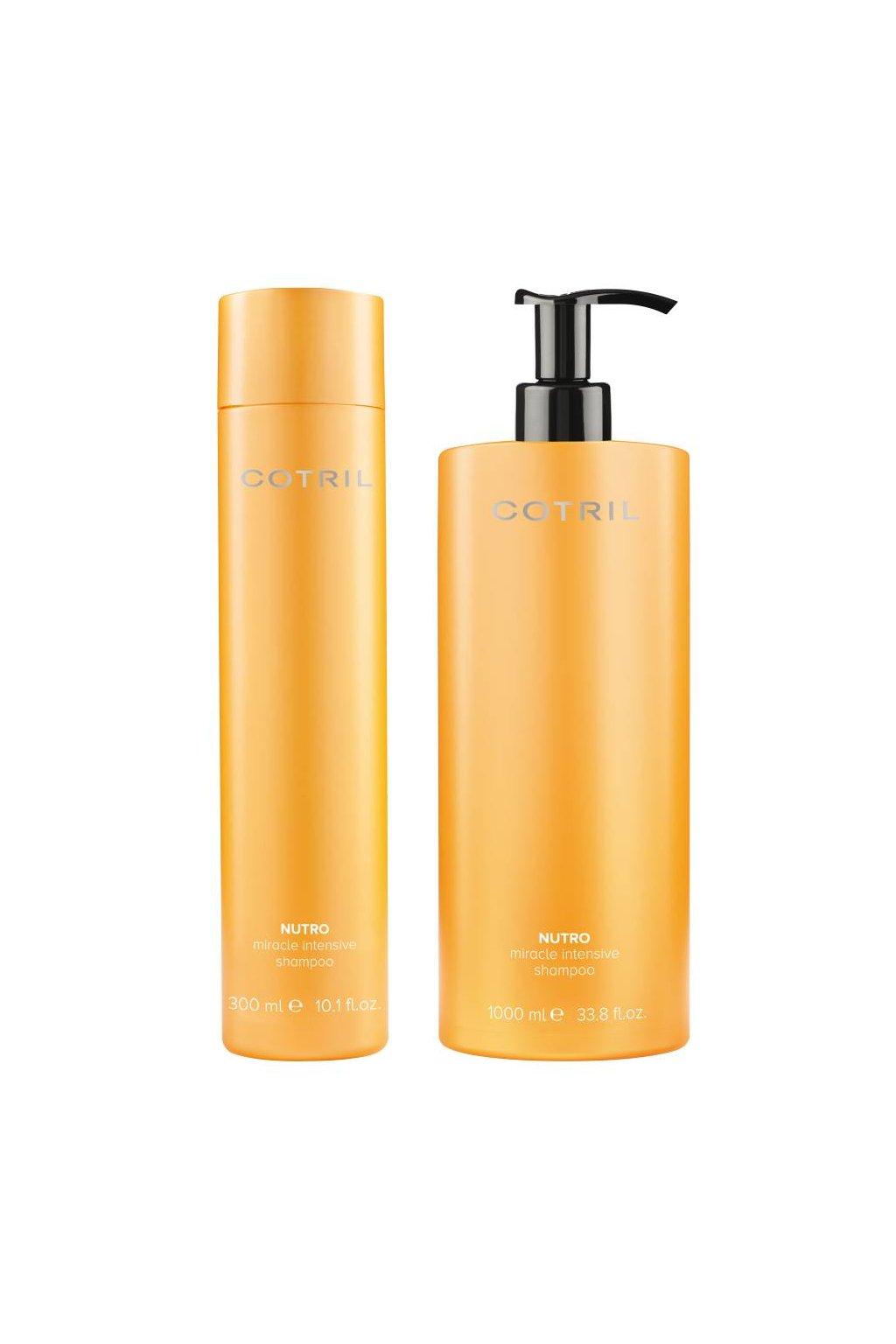 Cotril NUTRO MIRACLE Šampon vyživující pro suché a dehydratované vlasy (Obsah 300 ml)