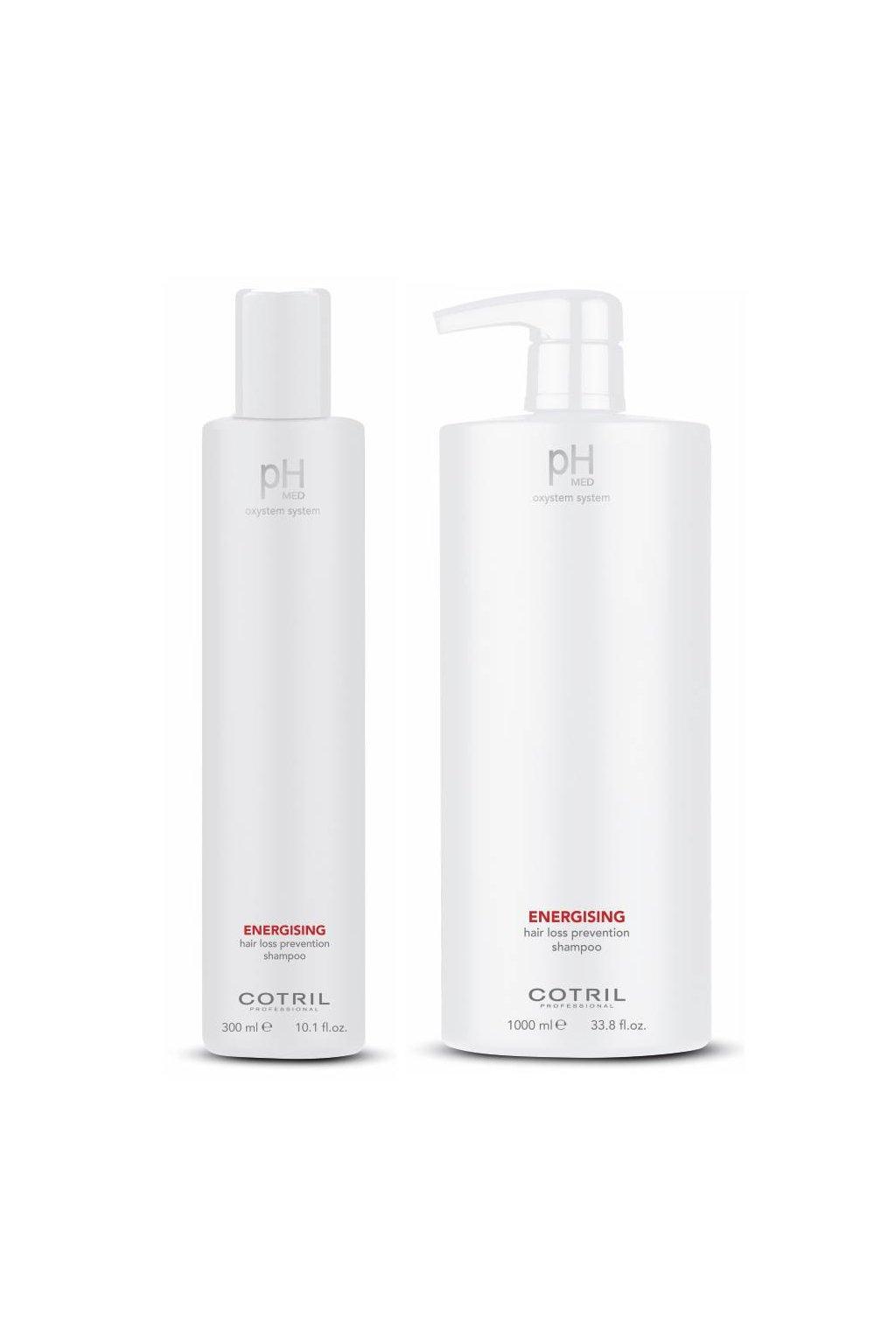 Cotril pH-MED Energising Šampon proti padání vlasů (Obsah 300 ml)
