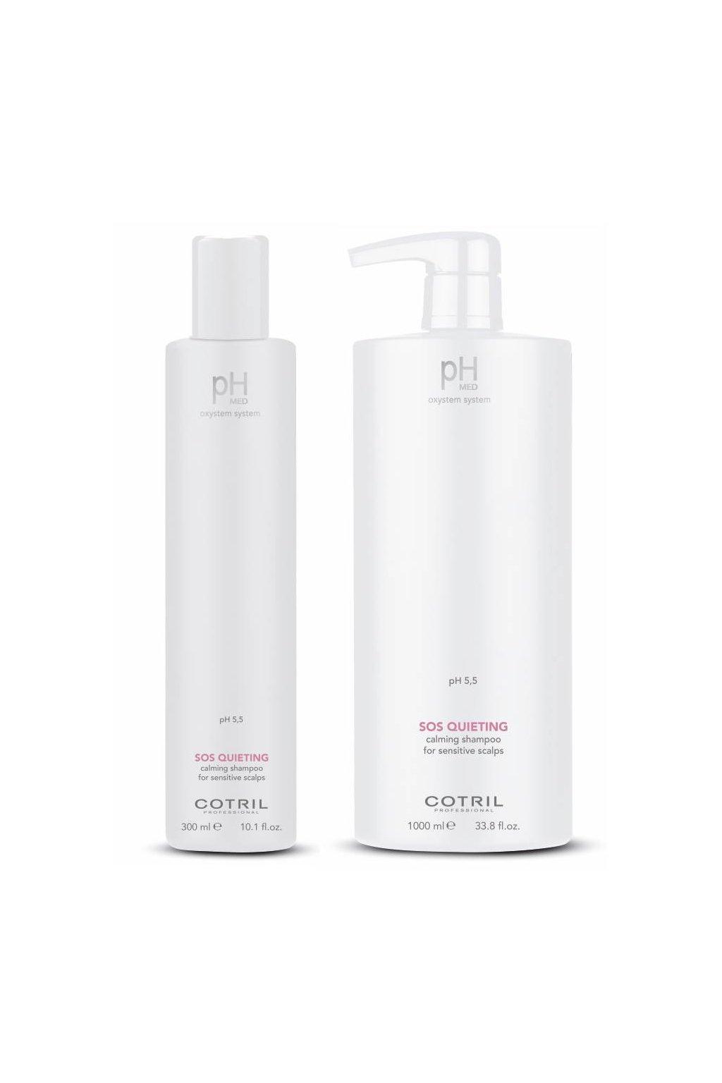 Cotril pH-MED SOS Šampon zklidňující pro citlivou a podrážděnou pokožku (Obsah 300 ml)