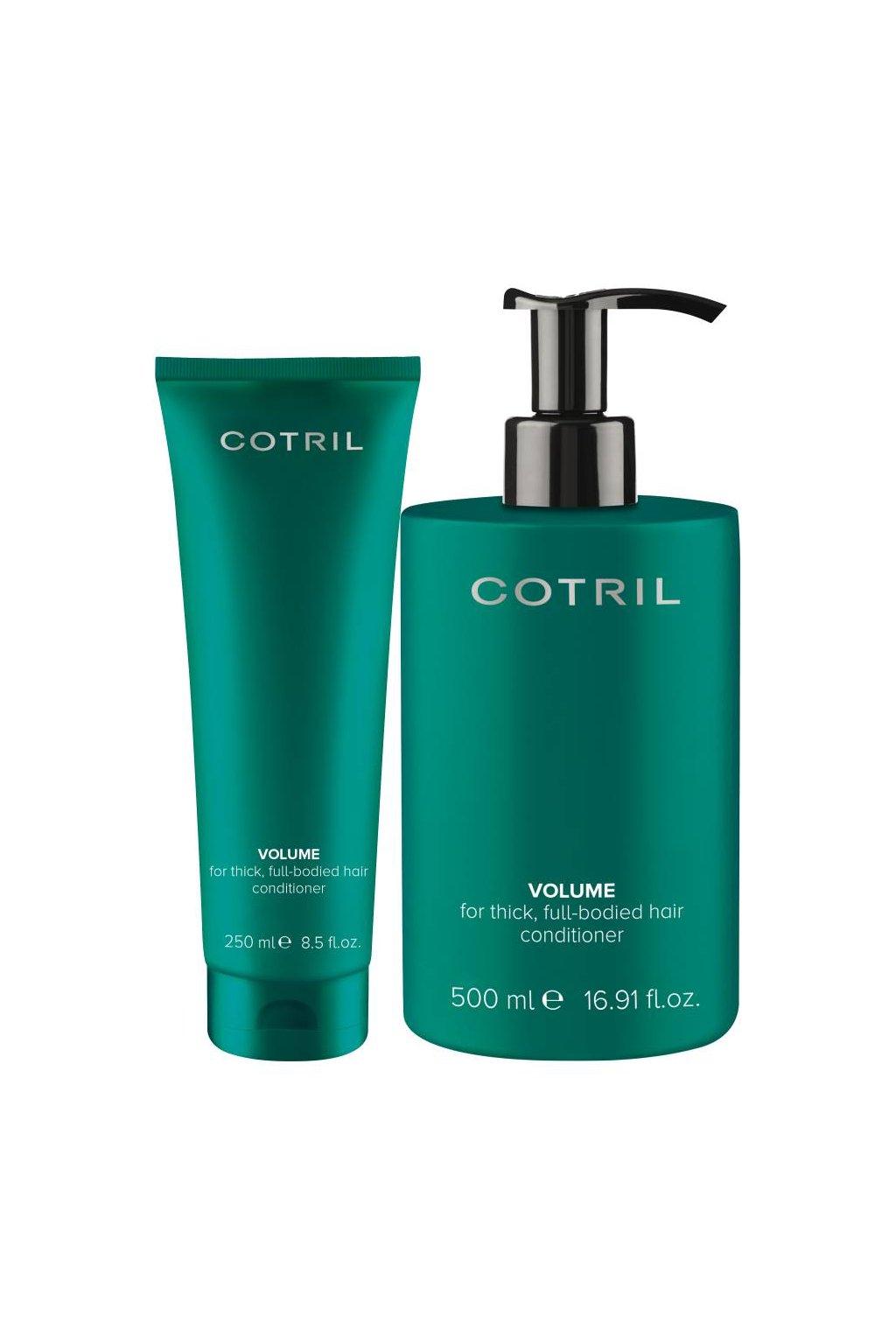 Cotril VOLUME Kondicionér objemový pro jemné vlasy, se zázvorem (Obsah 250 ml)