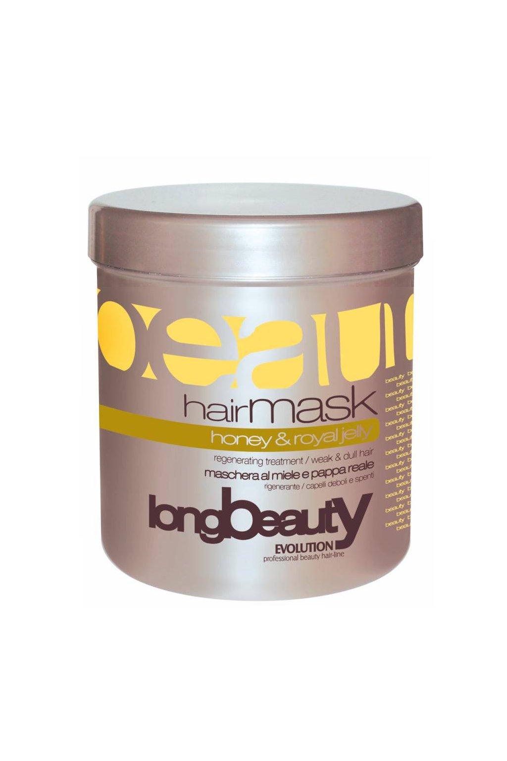 5255 evolution maska miele med pro slabe a matne vlasy 1000ml