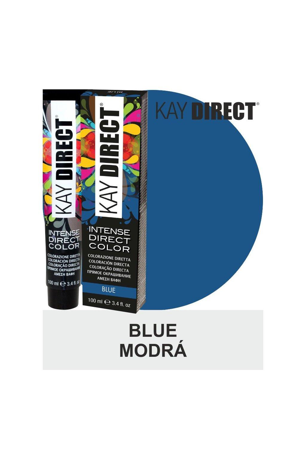 9446 kay direct barva na vlasy blue modra 100ml