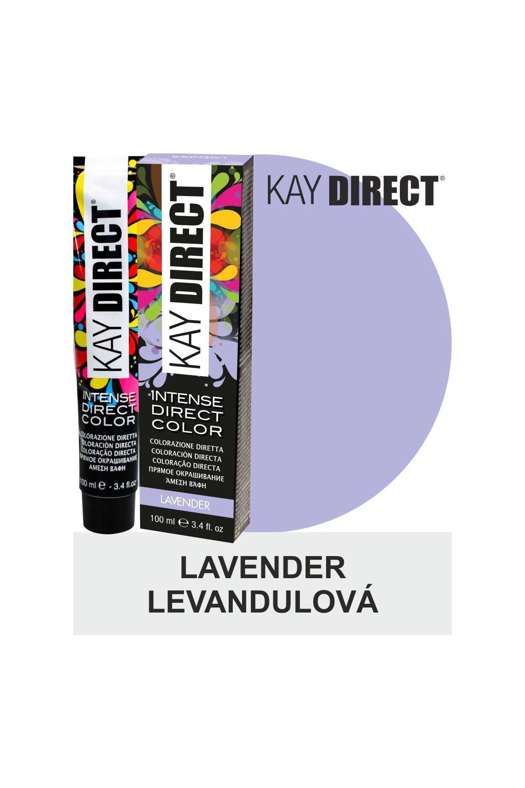 9452 kay direct barva na vlasy lavender levandulova 100ml