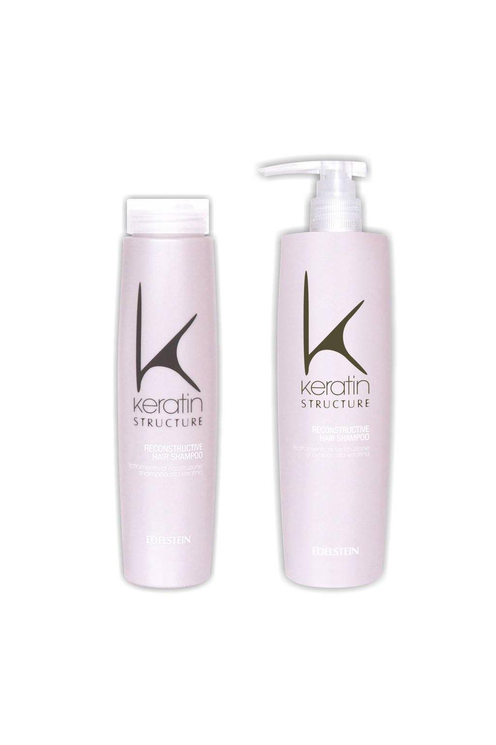 Keratin Structure Šampon hloubkově obnovující a posilující s keratinem (Obsah 250 ml)