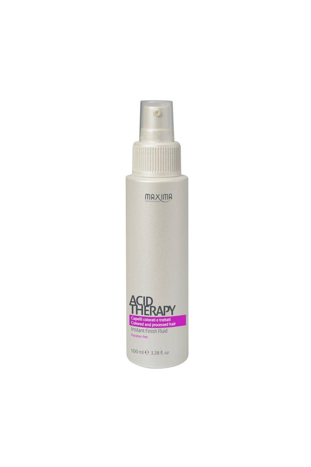 7538 maxima acid fluid pro stabilitu barvy a obnovu krasy vlasu 100ml