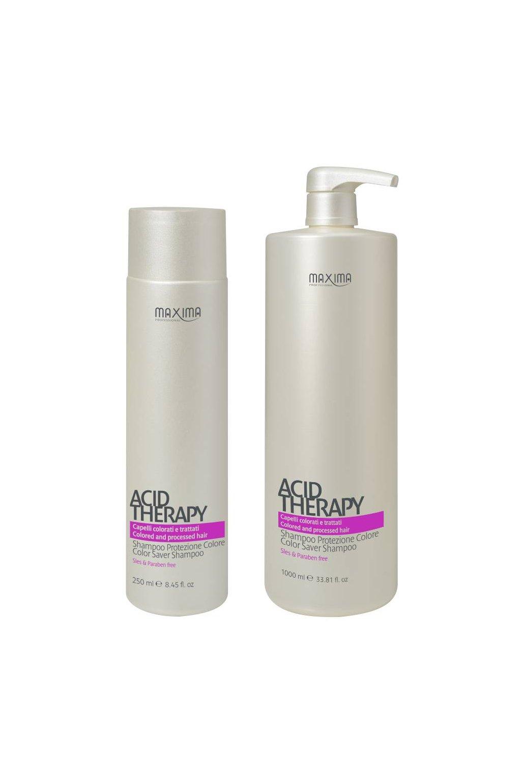 Maxima ACID Šampon pro barvené vlasy, antioxidační (Obsah 250 ml)