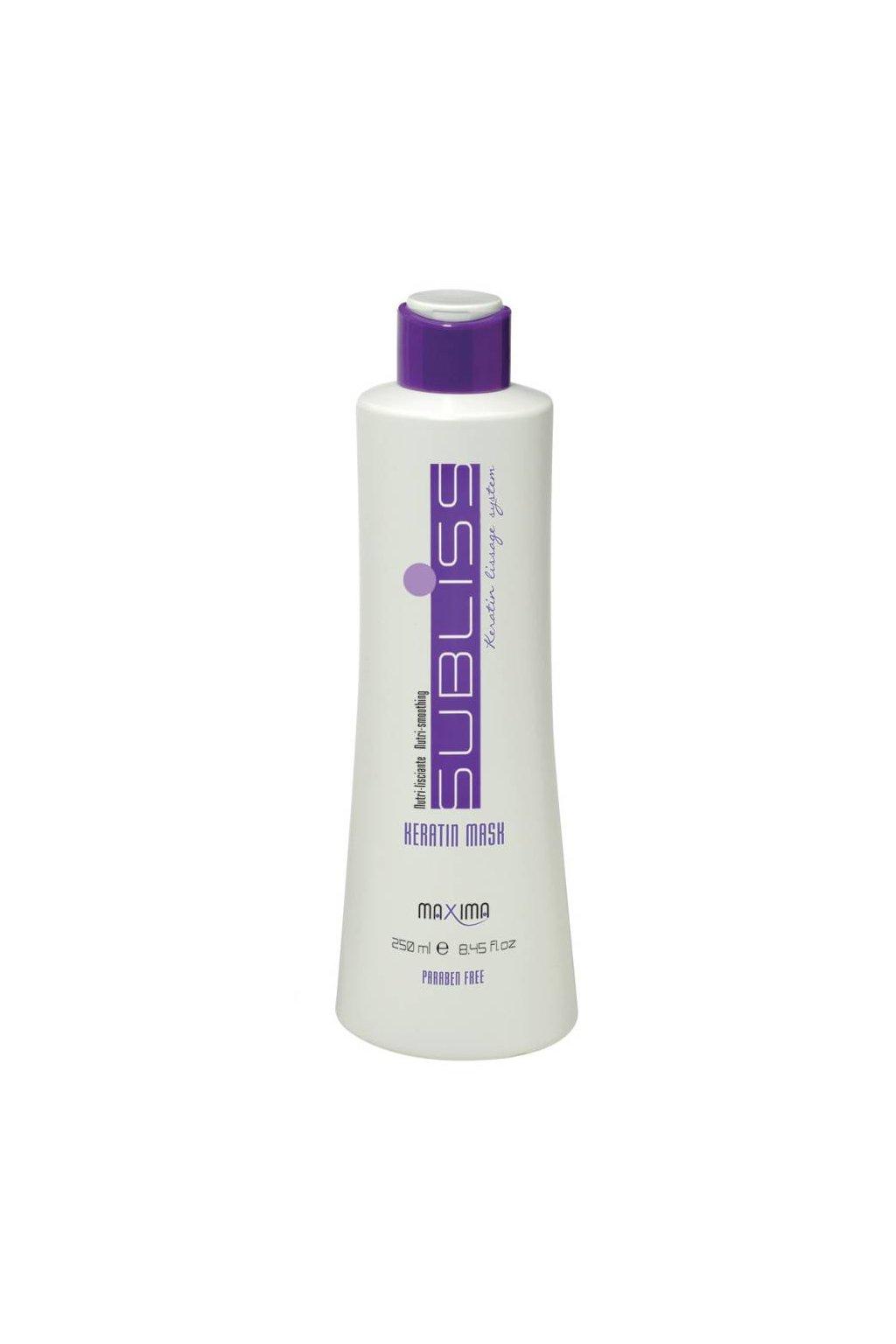 7151 maxima subliss maska pro perfektne hladke vlasy s keratinem intenzivni vyziva 250ml