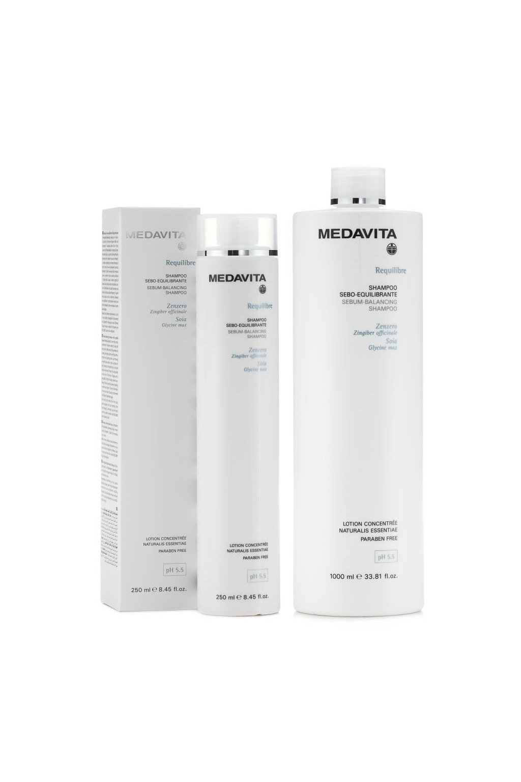Medavita REQUILIBRE Šampon pro mastnou pokožku (Obsah 250 ml)