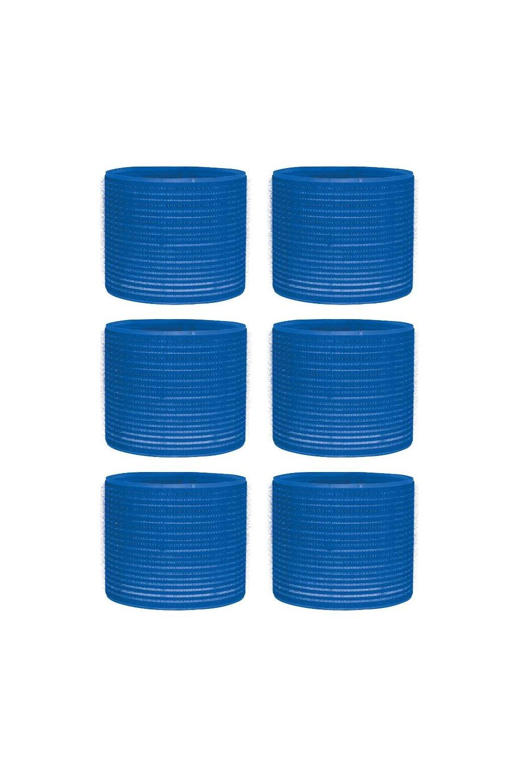 Natáčky suchý zip průměr 78mm modré tmavé Xanitalia