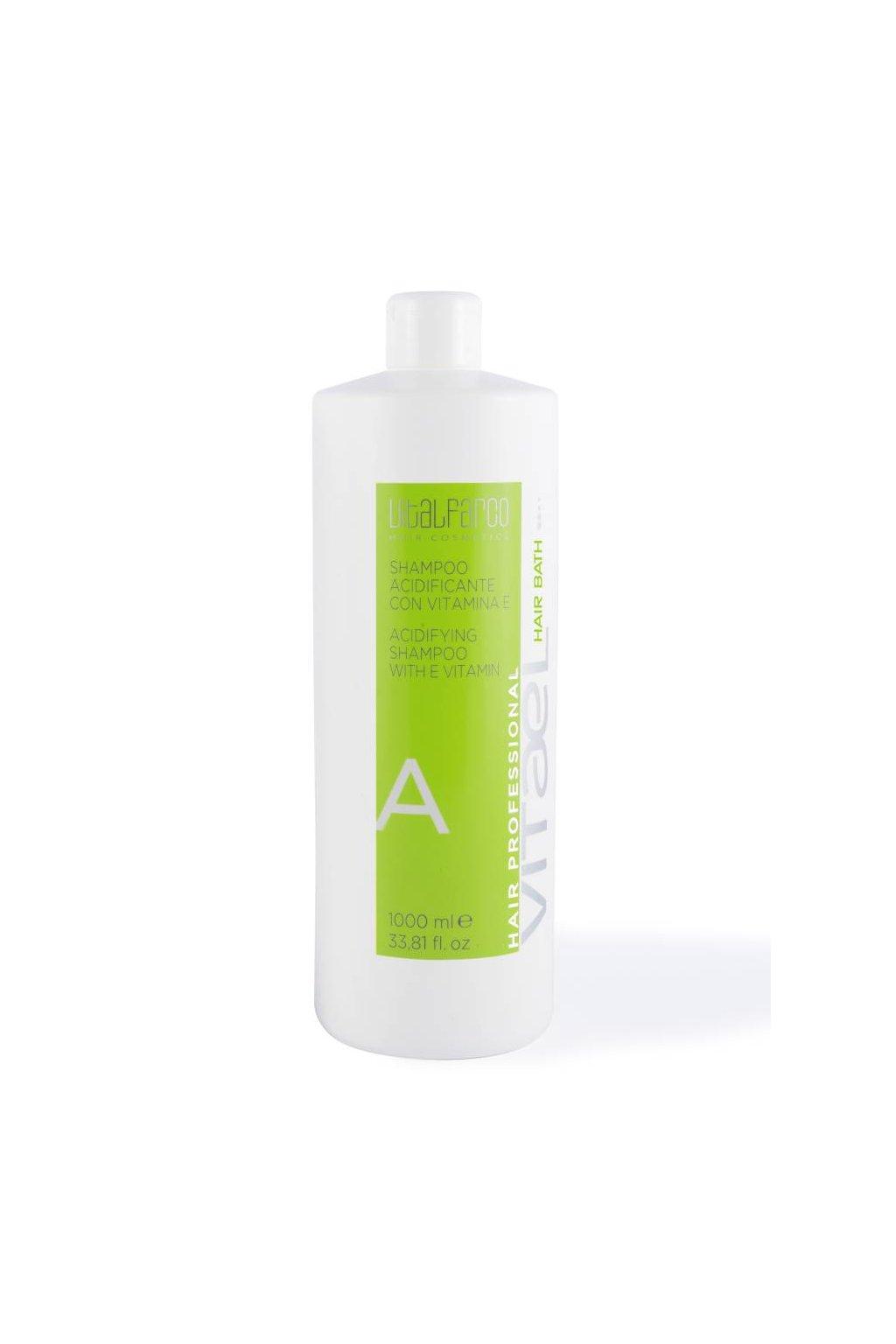 10985 vitael acid sampon a pro barvene vlasy hydratatuje a prodluzuje stalost barvy 1000ml