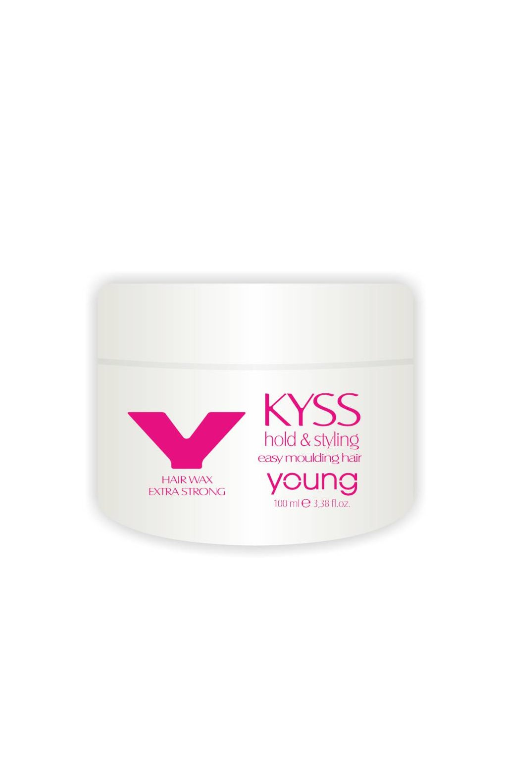 8948 young kyss vosk extra silny modelovaci na mokre i suche vlasy 100ml
