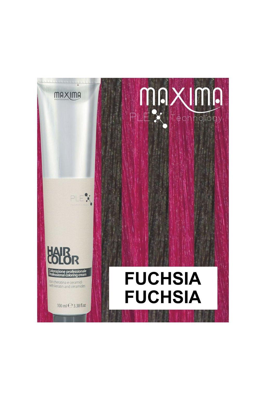 Maxima Melírovací barva FUCHSIA fuchsia