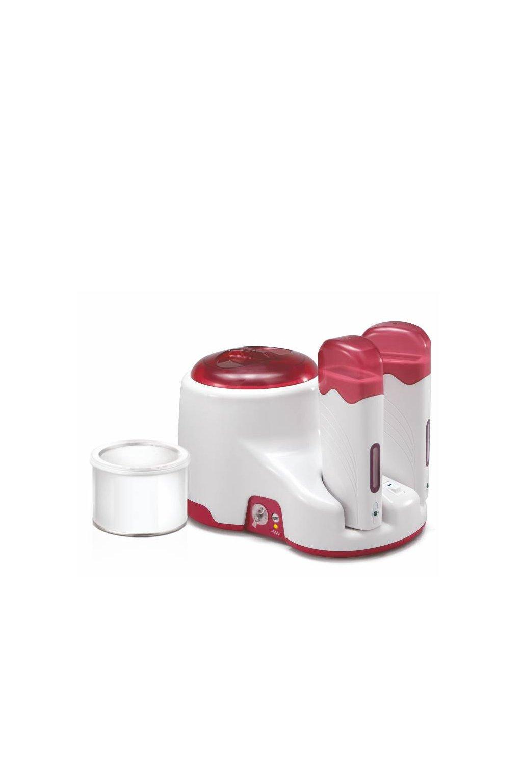 Ohřívač epilačních vosků KIT COMBINATO EXECUTIVE 400 pro vosky 2x100 a 400ml