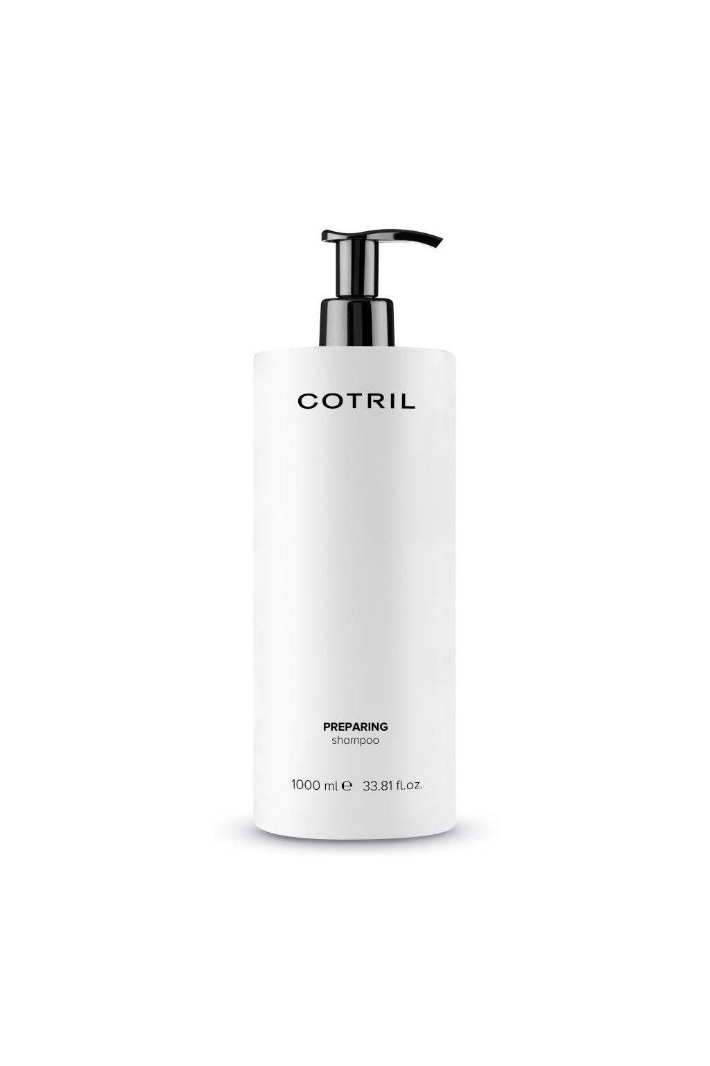 Cotril PREPARING Přípravný šampon hloubkově čistící pro maximální absorpci 1000ml