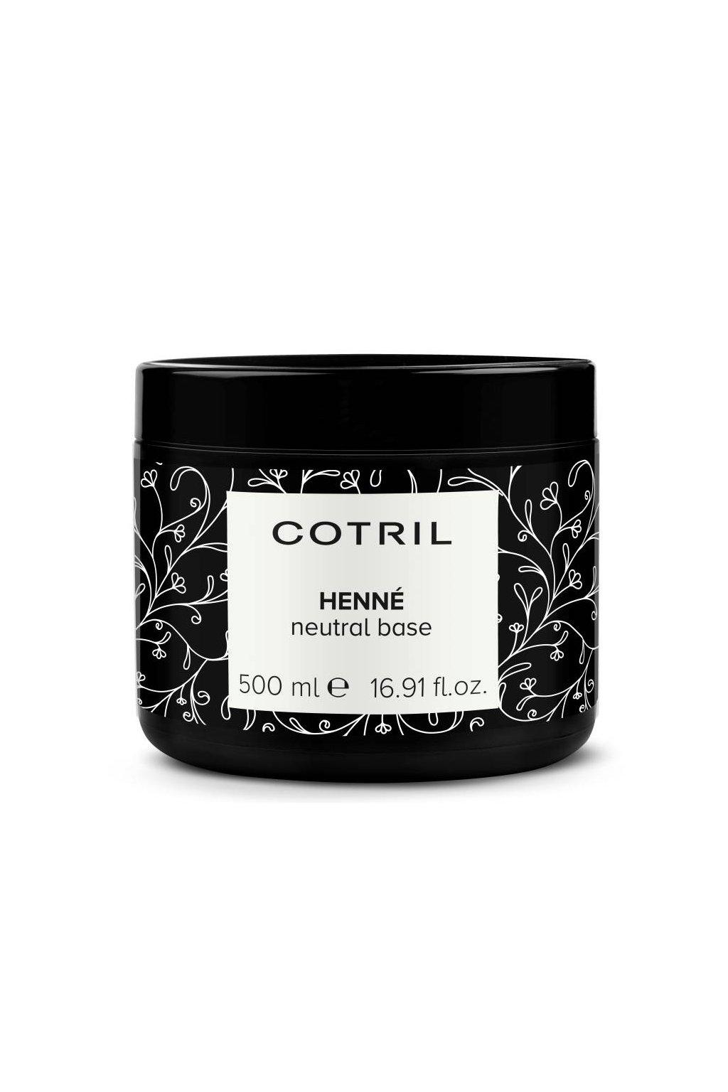 Cotril HENNÉ Neutral báze pro vytváření perfektních směsí henny 500ml
