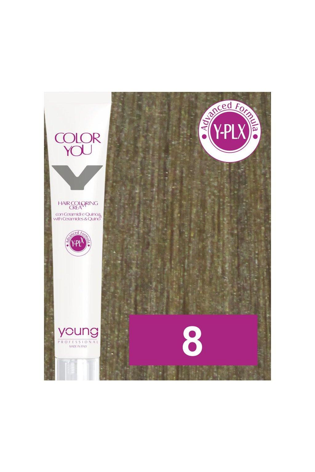 8 yo barva