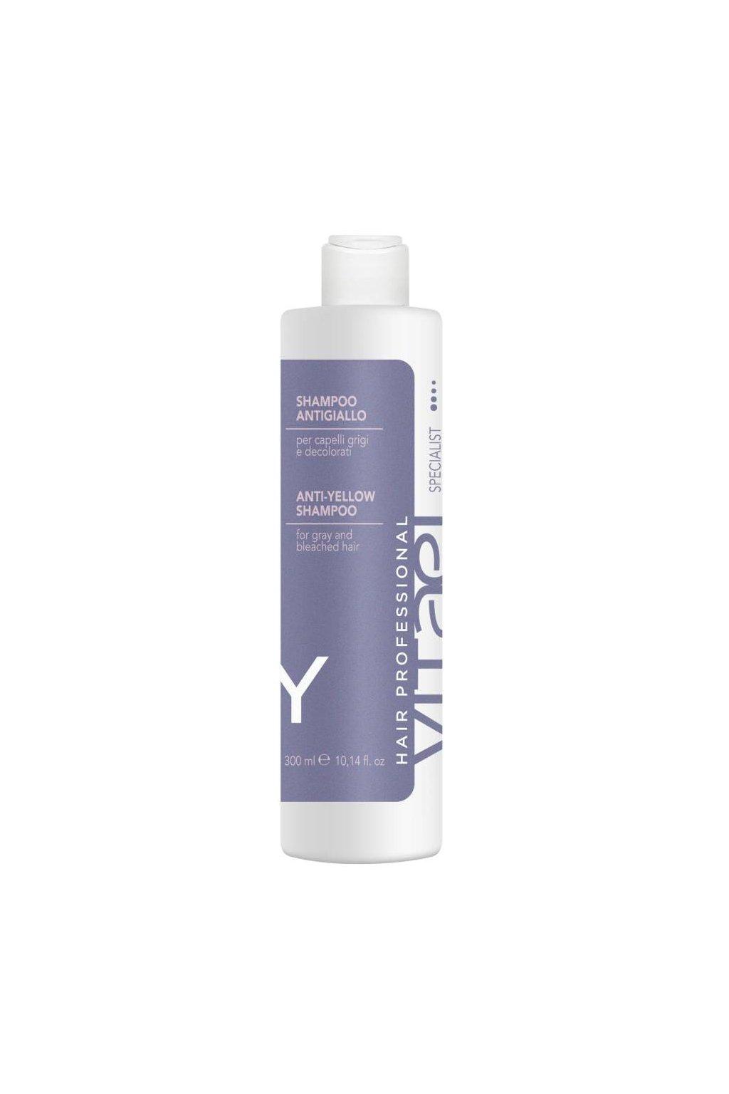 Vitael Anti-Yellow Šampon proti žloutnutí, pro neutralizaci žlutých tónů