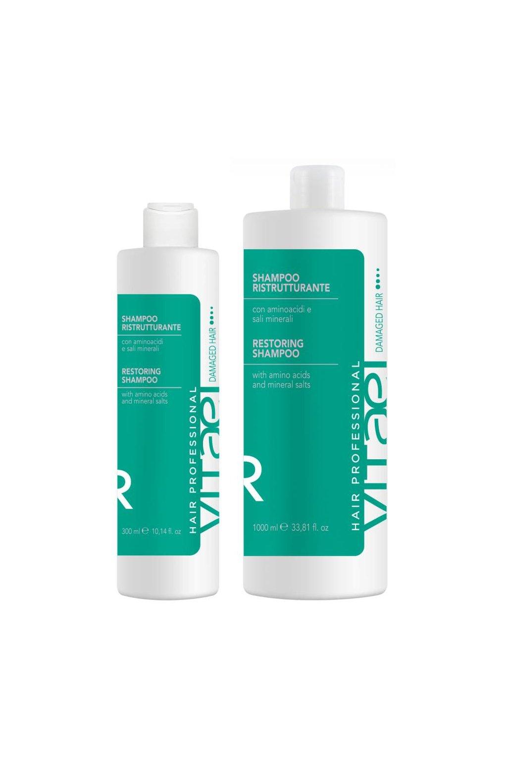 Vitael DAMAGED Šampon hloubkově obnovující poškozené a křehké vlasy